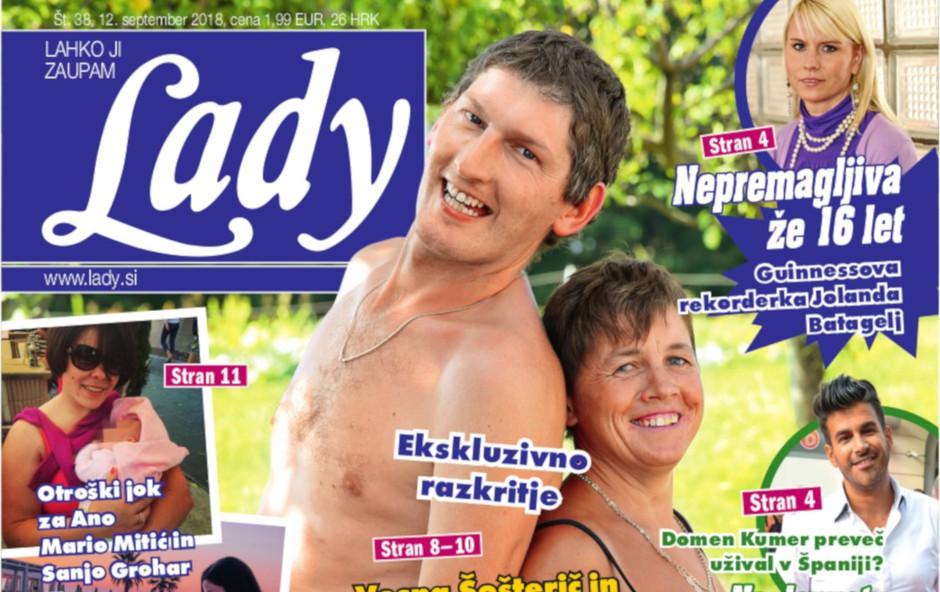 Vesna Šošterič in Miha Rebernak (Ljubezen po domače): Poroka bo leta 2019! (foto: Lady)