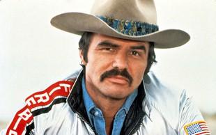 Burt Reynolds je bil velik ljubimec in seks simbol