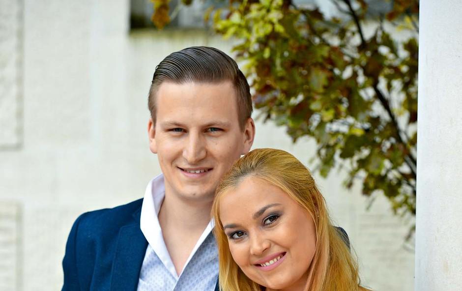 Eva Černe in Nejc Avbelj sta zaročena! (foto: Primož Predalič)