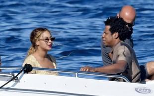 Beyonce in Jay-Z sta počitnikovala na Sardiniji