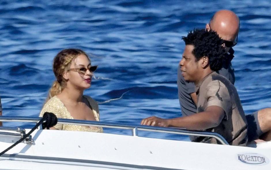 Beyonce in Jay-Z sta počitnikovala na Sardiniji (foto: Profimedia)