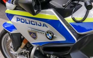 Policija v ukradenem avtu prijela tri mladoletnike
