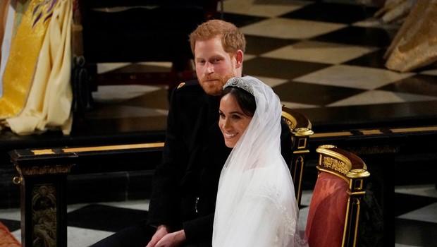 Poglejte si, kaj je rekla Meghan Markle, ko je prvič videla svojo poročno obleko (foto: Profimedia)