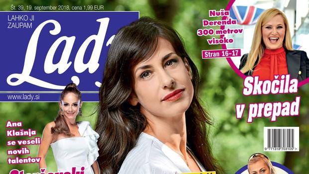 Lara Komar (Reka ljubezni): Tretjič noseča?! (foto: Lady)
