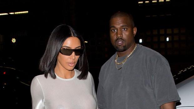 Kim Kardashian in Kanye West na bojni nogi, Kanye želi zapustiti Los Angeles, Kim pa ne želi stran od svoje družine (foto: Profimedia)