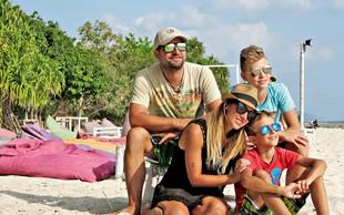 Natka Geržina in njena družina: Potovanja so njihova velika strast!