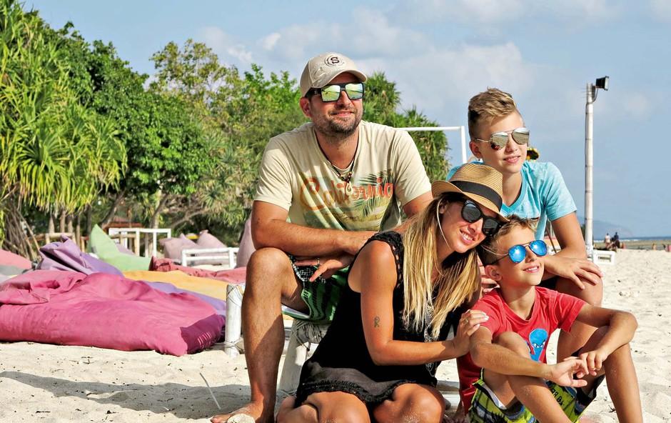 Natka Geržina in njena družina: Potovanja so njihova velika strast! (foto: osebni arhiv )