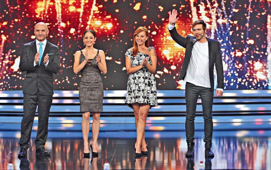 Ekipa žirantov Slovenija ima talent: Zdaj so vsi starši (foto: GORAN ANTLEY )
