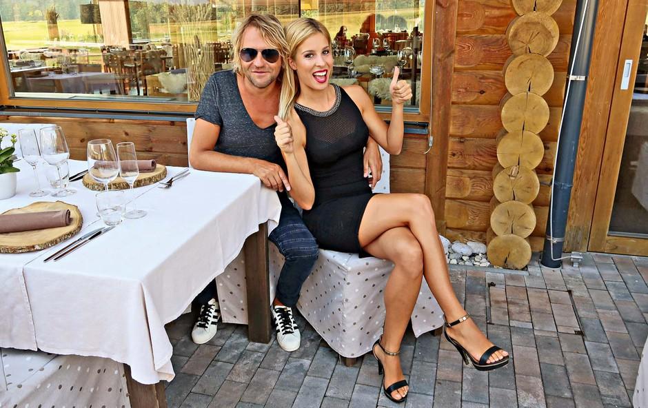 Sta Lea Mederal Gams in Aleš Bartol sveže pečena zaljubljenca? (foto: osebni arhiv )