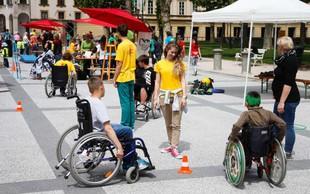 Bodi športnik - za enakovredno vključevanje oseb s posebnimi potrebami v družbo