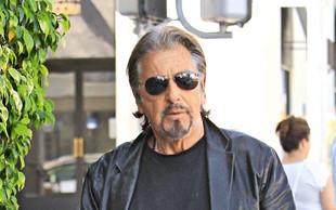 Al Pacino ljubi 39 let mlajšo