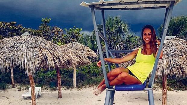 Ingrid Ulaga na Kubi ostala brez prtljage! (foto: osebni arhiv)