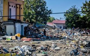 Že več kot 1200 žrtev potresa in cunamija v Indoneziji