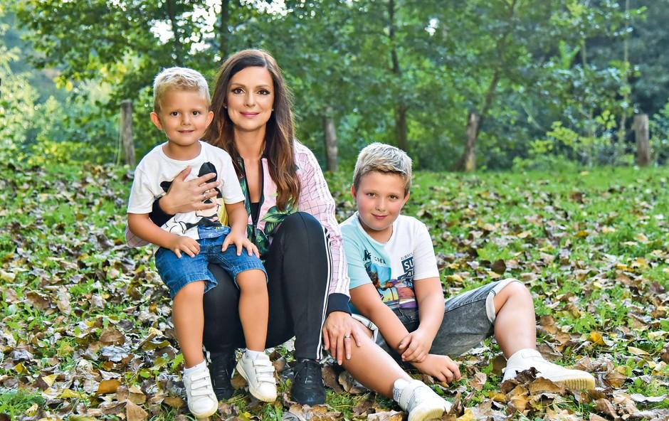 Natalija Verboten se zaradi agresivne učiteljice prvih šolskih dni raje ne spominja (foto: Natalija Jelušič Babič)