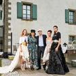 Ugledna družina Simčič združila vinsko-modni sij