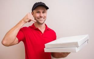 Polovica naših dostavljalcev pice dobila oceno: Pomanjkljivo!