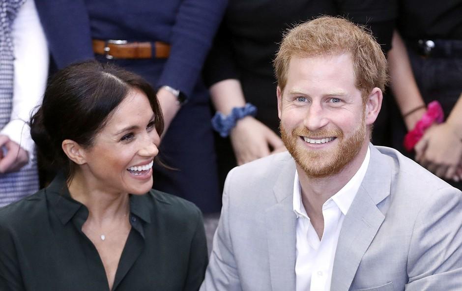 Po govoricah o zakonski krizi sta Meghan Markle in princ Harry znova v odličnih odnosih (foto: Profimedia)