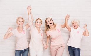 Bolnice z rakom na dojkah in rodilih potrebujejo tudi čustveno podporo!