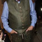 FOTO: Bill Clinton v usnjenih hlačah skupaj s Hillary na Oktoberfestu (foto: profimedia)