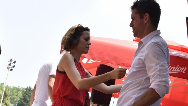 Partnerski odnos Gregorja Krušiča in Nuše Lesar glede na horoskop (foto: Igor Zaplatil)