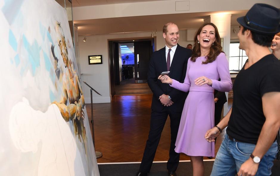 Poglejte si, kako se je princ William šalil na račun Kate Middleton (foto: Profimedia)