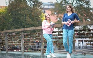 Kaj so mična dekleta v pižamah počela na ljubljanskih ulicah?