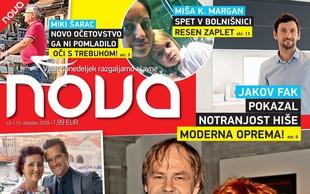 Jure Ivanušič in Nana Forte (Drnovškov zet in hči): Razšla sta se