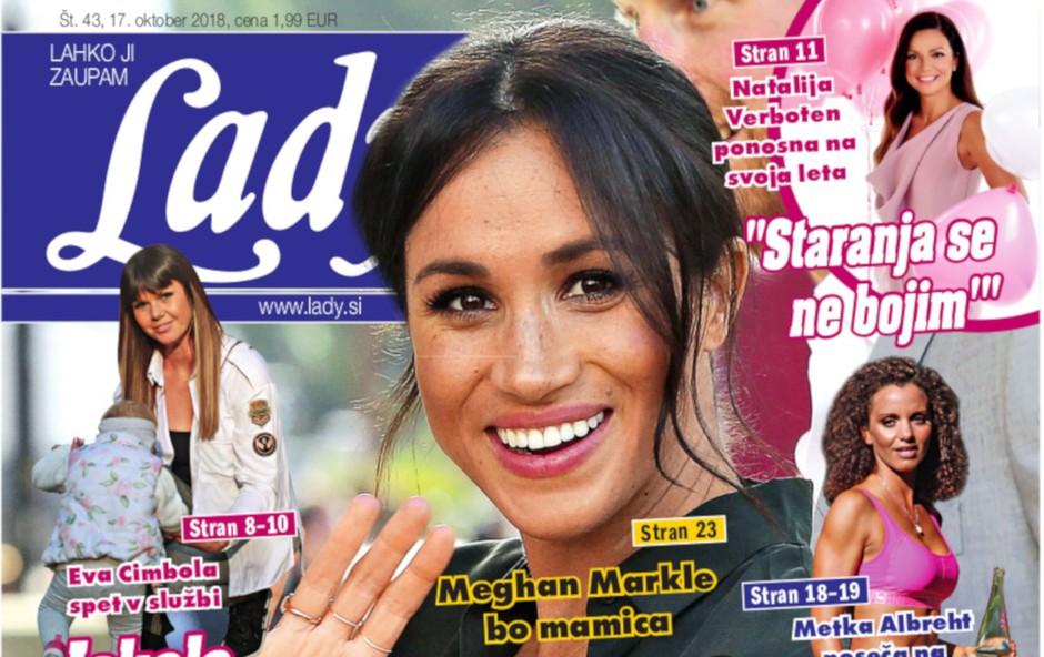 Meghan Markle bo mamica! Noseča je! (foto: Lady)