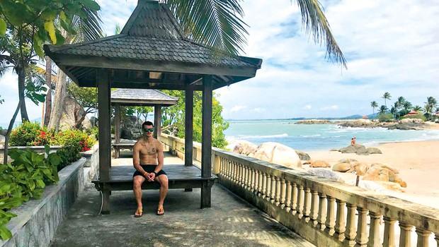 Tim Gajser je ne glede na natrpan urnik užival v Indoneziji (foto: osebni arhiv)