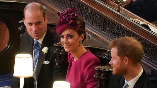 Kate Middleton in princ William prekršila pomembno kraljevo pravilo (foto: Profimedia)