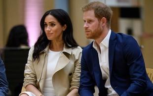 Princ Harry prvič javno spregovoril o nosečnosti Meghan Markle, njegov glas se je ves čas tresel