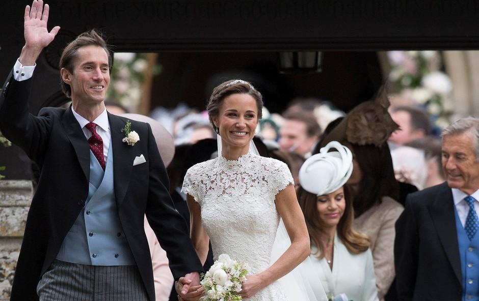 Pippa Middleton povila fantka (foto: Profimedia)
