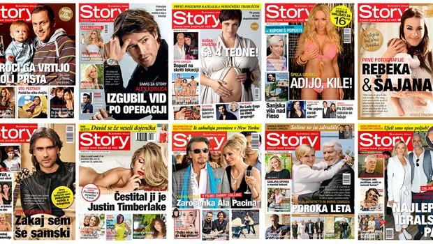 Znani Slovenci čestitajo reviji Story ob njenem okroglem jubileju #10 let (foto: Story)