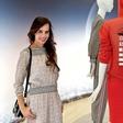 Lorella Flego v Milanu preverjala modne trende