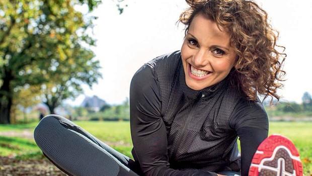 Metka Albreht je zaprisežena tekačica, ki je enega največjih maratonov pretekla noseča (foto: osebni arhiv)