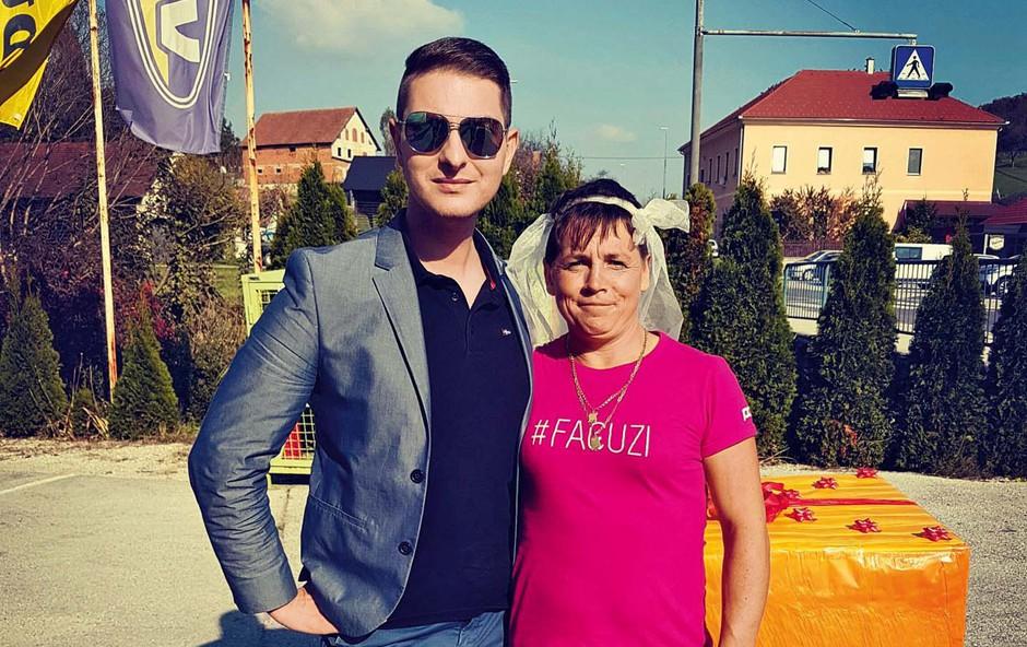 Vesna Šošteršič in Damjan Murko sta združila moči (foto: promo)