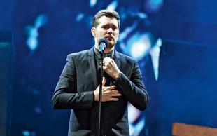 Michael Bublése umika iz glasbenega sveta