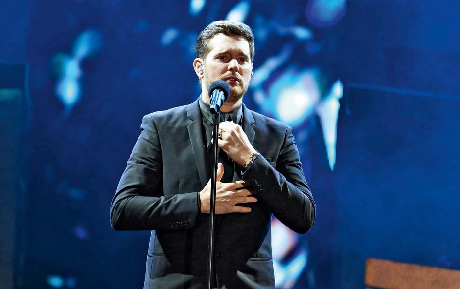 Michael Bublése umika iz glasbenega sveta (foto: Profimedia)