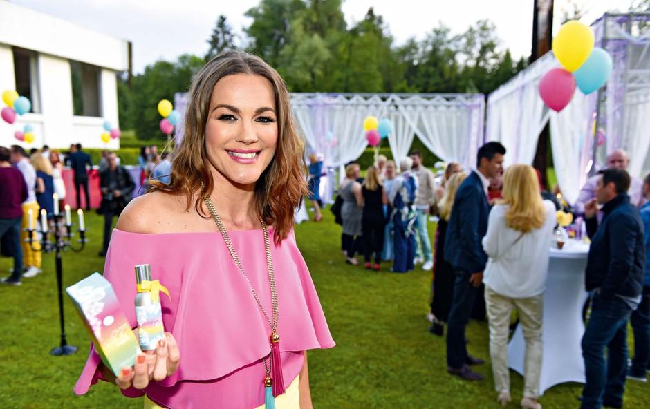 Ali je Rebeka Dremelj obogatela s parfumi? (foto: Igor Zaplatil)