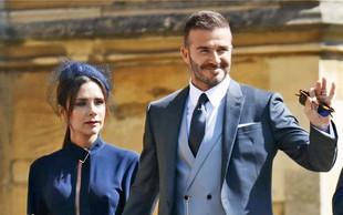 Victoria Beckham je zaradi moževe izjave jokala dva dni