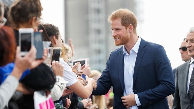 Princ Harry je skromnost očitno nasledil po mami, princesi Diani (foto: Profimedia)