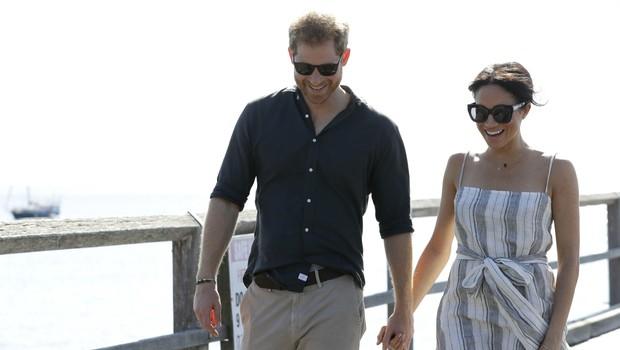 Vojvodinja Meghan in princ Harry ter prigode na turneji (foto: Profimedia)