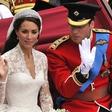 Kate Middleton se je za svojo poroko kar sama naličila