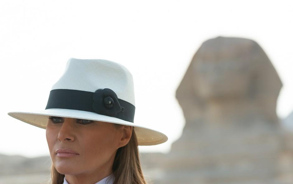 Račun za šest ur, ki jih je Melania Trump preživela v Kairu,  znašal skoraj 100.000 dolarjev (foto: profimedia)