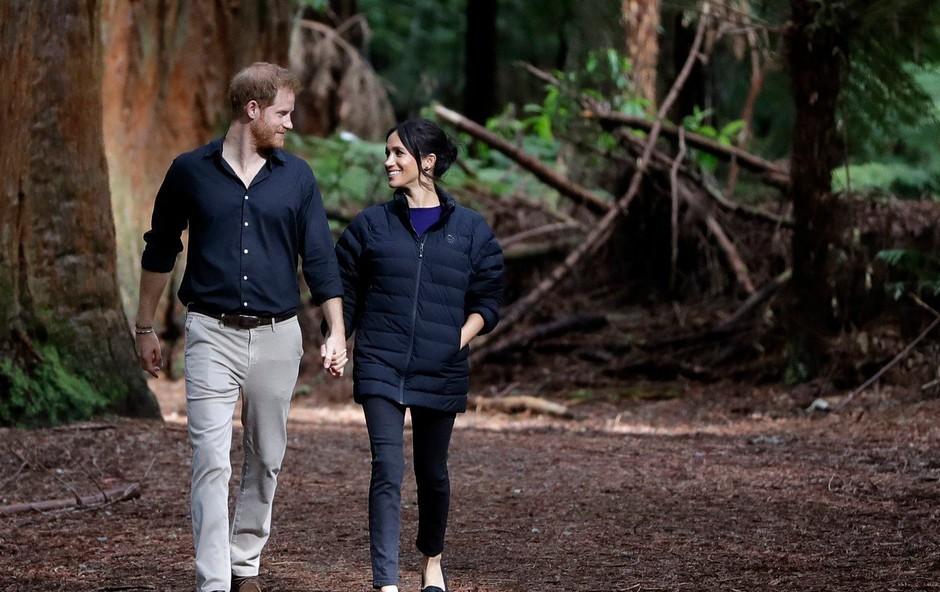 Kljub milijonom si Meghan Markle obleke izposoja pri princu Harryju (foto: Profimedia)