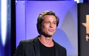 Brada Pitta dolgo ni bilo na spregled, a zdaj je videti prav fantastično!