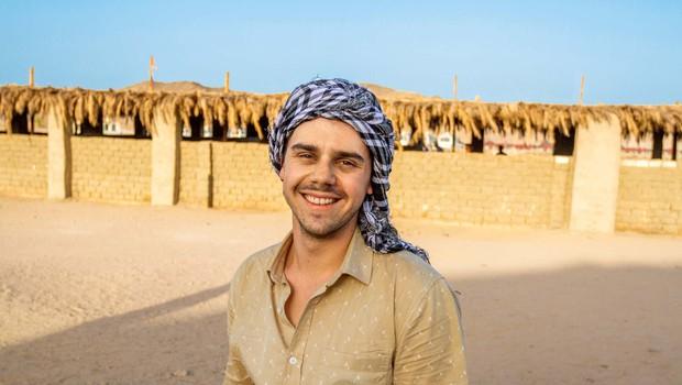 V Egiptu so Klemena Mramorja dodobra prestrašili (foto: osebni arhiv)