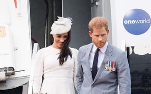 Princ Harry in Meghan Markle sta prestavila turnejo po Ameriki