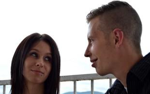 Tamara Korošec in Renato Lužar še nikoli tako zaljubljena