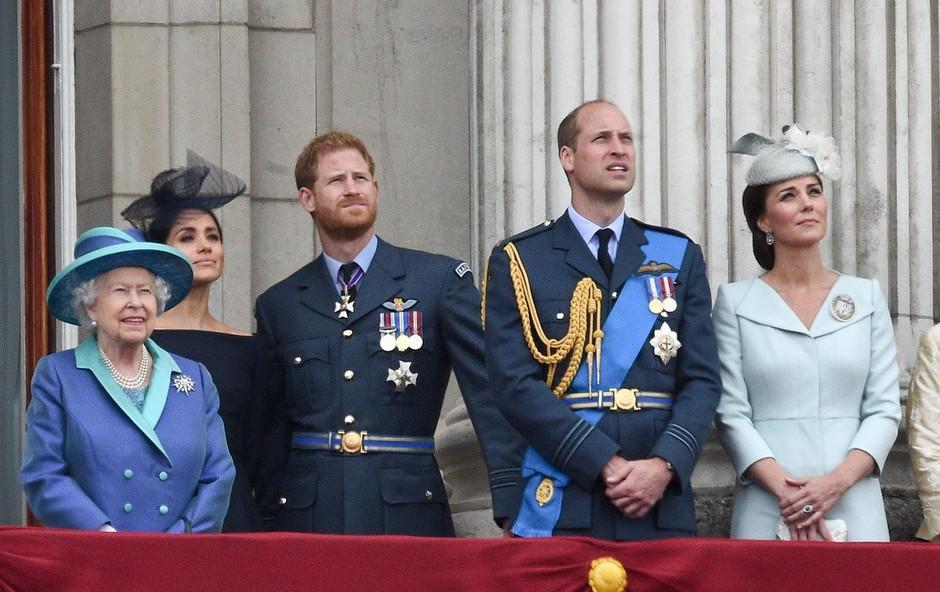 Princ William in princ Harry naj bi šla vsak svojo pot (foto: Profimedia)